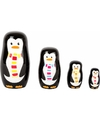 Kinderkamer decoratie pinguis matroesjka set
