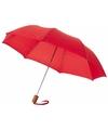 Kleine paraplu rood 56 cm