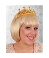 Koningin tiara goud voor dames