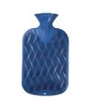 Kruik blauw golf ribbel 2 liter