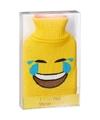 Kruik met gele hoes lol smiley 1 liter