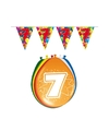 Leeftijd feestartikelen 7 jaar setje