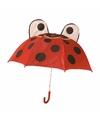 Lieveheersbeestje paraplu voor jongens 45 cm