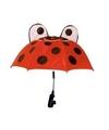 Lieveheersbeestje paraplu voor kinderwagen 45 cm