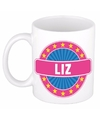 Liz naam koffie mok beker 300 ml