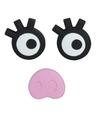Magneten setje van 3 stuks vrouwtjes varken gezicht