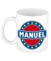 Manuel naam koffie mok beker 300 ml