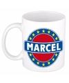 Marcel naam koffie mok beker 300 ml