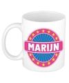Marijn naam koffie mok beker 300 ml