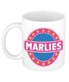 Marlies naam koffie mok beker 300 ml