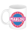 Marlou naam koffie mok beker 300 ml