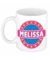 Melissa naam koffie mok beker 300 ml