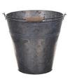 Metalen drankemmer drankkoeler grijs 7 liter