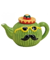 Mexicaans thema cactus theepot 17 cm