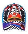 Mickey mouse pet cap blauw voor kinderen