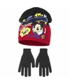 Mickey mouse winterset rood 2 delig voor jongens