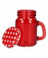 Mini voorraad potje rood 120 ml