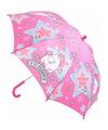 Minion eenhoorn fluffy kinder paraplu