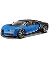 Modelauto bugatti chiron 1 32 blauw