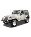 Modelauto jeep wrangler 1 18