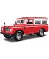 Modelauto land rover defender 110 1 24