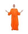 Monnik kostuum oranje voor heren