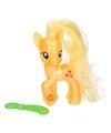 My little pony applejack speelfiguur met kam 8 cm