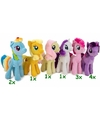 My little pony pluche knuffel rarity 27 cm