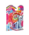 My little pony rainbow dash metallic speelfiguur 8 cm