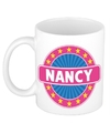 Nancy naam koffie mok beker 300 ml