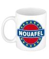 Naoufel naam koffie mok beker 300 ml
