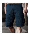 Navy bermuda shorts voor heren