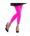 Neon roze legging voor dames