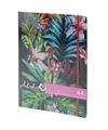 Notitieboek tropische print met elastiek a4 formaat