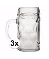 Oktoberfest bierpullen 0 4 liter 3 stuks