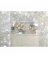 Opbergdoos transparante glaskralen 115 gram