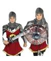 Opblaasbaar ridder zwaard en schild voor kinderen