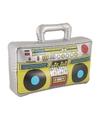 Opblaasbare radio 37 cm