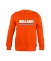 Oranje holland supporter sweater kinderen