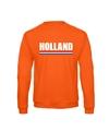 Oranje holland supporter sweater volwassenen