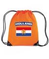 Oranje holland vlag rugzak