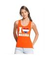 Oranje i love maxima tanktop dames