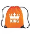 Oranje king rugzak