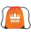 Oranje queen rugzak