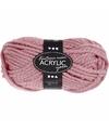Oud roze maxi acryl garen 35 meter