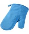 Ovenwant ovenhandschoen blauw