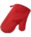 Ovenwant ovenhandschoen rood