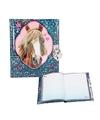 Paarden dagboek blauw met slotje