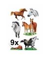 Paarden stickers 9 vellen