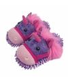 Paars roze eenhoorn pantoffels voor dames